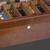 Кнопка-замок массив латуни 3096.10