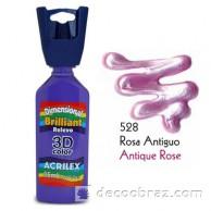 3D контур акриловый металлик ACRILEX 35мл 12312.0528 лиловый