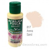 Краска акриловая матовая ACRILEX 60мл 3560.0817 песчаный