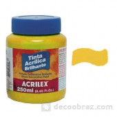Acrylic Paint Gloss. 250ml. 3325.0505 gold yellow