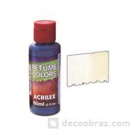 Краска битумная ACRILEX 60мл. 21660.0519 белый