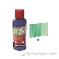 Краска битумная ACRILEX 60мл 21660.0524 зеленый