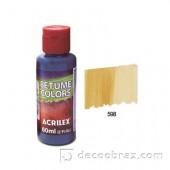 Краска битумная ACRILEX 60мл 21660.0598 солнечное золото