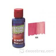 Краска битумная ACRILEX 60мл 21660.0826 вишневый