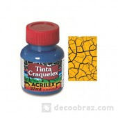 Краска кракле ACRILEX 37мл. 3837.0505 желтое золото
