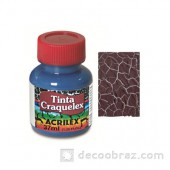 Краска кракле ACRILEX 37мл. 3837.0531 коричневый