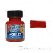 Краска для ткани акрил матовая ACRILEX 37мл 04140.0506 керамический