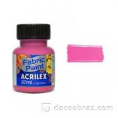 Краска для ткани акрил матовая ACRILEX 37мл 04140.0537 розовый