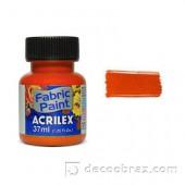Краска для ткани акрил матовая ACRILEX 37мл 04140.0539 сиена натуральная