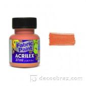 Краска для ткани акрил матовая ACRILEX 37мл 04140.0566 персиковый