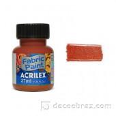 Краска для ткани акрил матовая ACRILEX 37мл 04140.0569 саханая карамель