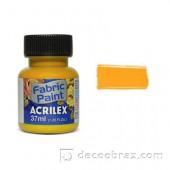 Краска для ткани акрил матовая ACRILEX 37мл 04140.0573 золотая охра