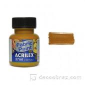 Краска для ткани акрил матовая ACRILEX 37мл 04140.0593 горчица