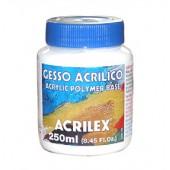 GESSO. Гипс акриловый . Грунт универсальный  ACRILEX 250 мл.для акриловых и масляных красок 13325.0000