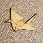 Журавль оригами 1-36.4.10 см