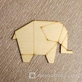 Слон оригами 1-37.4.5 см