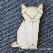 Лиса оригами 1-47.4.10 см