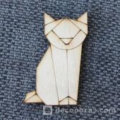 Лиса оригами 1-47.4.5 см