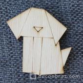 Собака оригами 1-19.4.10 см