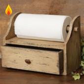 Держатель для бумажных полотенец с полочкой 4-005.1
