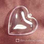 Пластиковое сердце 80мм (НШП4)