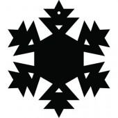 Снежинка 9-19.4.15 см
