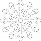 Снежинка 9-37.4.10 см