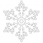 Снежинка 9-38.4.10 см