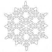 Снежинка 9-39.4.10 см