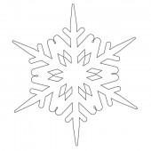 Снежинка 9-40.4.10 см