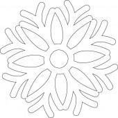 Снежинка 9-41.4.10 см