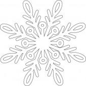 Снежинка 9-45.4.10 см
