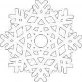 Снежинка 9-46.4.10 см