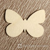 Бабочка №1 6-1.4.10 см