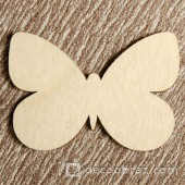 Бабочка №1 6-1.4.15 см