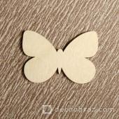 Бабочка №1 6-1.4.5 см